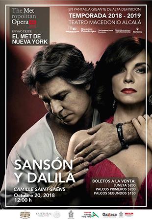 Sansón y Dalila MET Live